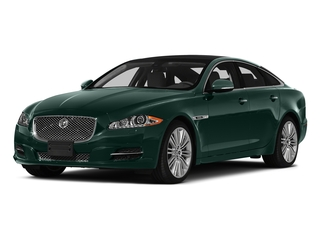 British Racing Green 2015 Jaguar XJ Pictures XJ Sedan 4D V6 photos front view