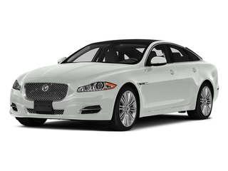 Polaris White 2015 Jaguar XJ Pictures XJ Sedan 4D V6 photos front view
