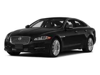 Ultimate Black Metallic 2015 Jaguar XJ Pictures XJ Sedan 4D V6 photos front view