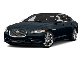 Dark Sapphire Metallic 2015 Jaguar XJ Pictures XJ Sedan 4D Supercharged Speed V8 photos front view