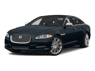 Dark Sapphire Metallic 2015 Jaguar XJ Pictures XJ Sedan 4D L Supercharged Speed V8 photos front view