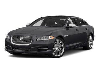 Stratus Gray Metallic 2015 Jaguar XJ Pictures XJ Sedan 4D Supercharged Speed V8 photos front view