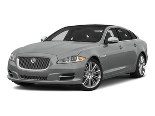 Rhodium Silver Metallic 2015 Jaguar XJ Pictures XJ Sedan 4D Supercharged Speed V8 photos front view
