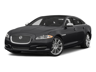 Ebony 2015 Jaguar XJ Pictures XJ Sedan 4D Supercharged Speed V8 photos front view