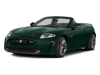 British Racing Green 2015 Jaguar XK Pictures XK Convertible 2D XKR-S V8 Supercharged photos front view