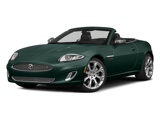 British Racing Green 2015 Jaguar XK Pictures XK Convertible 2D XKR V8 Supercharged photos front view