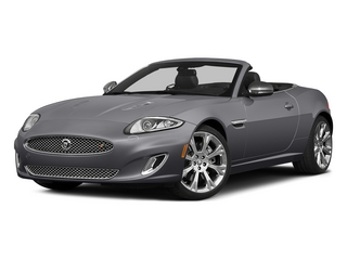 Lunar Gray Metallic 2015 Jaguar XK Pictures XK Convertible 2D XKR V8 Supercharged photos front view