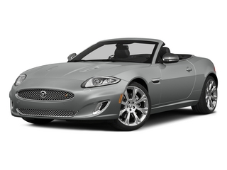 Rhodium Silver Metallic 2015 Jaguar XK Pictures XK Convertible 2D XKR V8 Supercharged photos front view