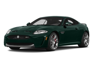 British Racing Green 2015 Jaguar XK Pictures XK Coupe 2D XKR-S V8 Supercharged photos front view