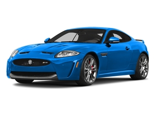 French Racing Blue 2015 Jaguar XK Pictures XK Coupe 2D XKR-S V8 Supercharged photos front view