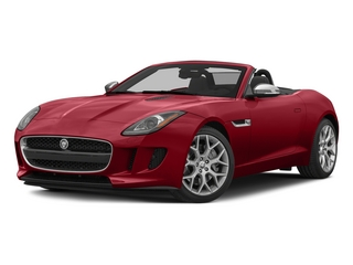 Italian Racing Red 2015 Jaguar F-TYPE Pictures F-TYPE Convertible 2D V6 photos front view