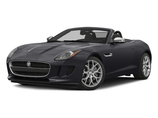 Stratus Gray Metallic 2015 Jaguar F-TYPE Pictures F-TYPE Convertible 2D V6 photos front view