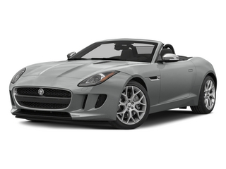 Rhodium Silver Metallic 2015 Jaguar F-TYPE Pictures F-TYPE Convertible 2D V6 photos front view