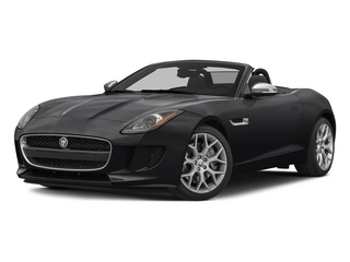 Ebony 2015 Jaguar F-TYPE Pictures F-TYPE Convertible 2D V6 photos front view