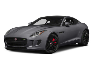 Lunar Gray Metallic 2015 Jaguar F-TYPE Pictures F-TYPE Coupe 2D S V6 photos front view