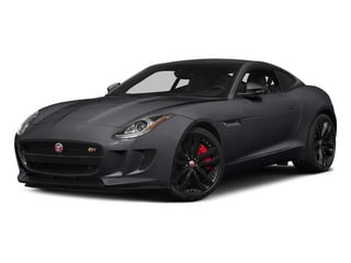 Stratus Gray Metallic 2015 Jaguar F-TYPE Pictures F-TYPE Coupe 2D S V6 photos front view