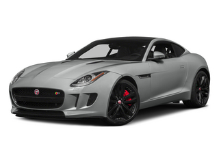 Rhodium Silver Metallic 2015 Jaguar F-TYPE Pictures F-TYPE Coupe 2D R V8 photos front view