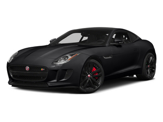 Ebony 2015 Jaguar F-TYPE Pictures F-TYPE Coupe 2D S V6 photos front view