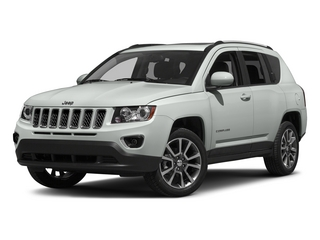 Bright White Clearcoat 2015 Jeep Compass Pictures Compass Utility 4D High Altitude 2WD photos front view