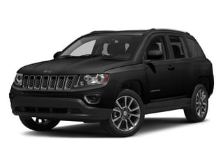 Black Clearcoat 2015 Jeep Compass Pictures Compass Utility 4D High Altitude 2WD photos front view