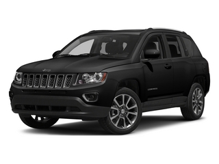 Black Clearcoat 2015 Jeep Compass Pictures Compass Utility 4D Limited 4WD photos front view