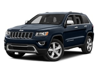True Blue Pearlcoat 2015 Jeep Grand Cherokee Pictures Grand Cherokee Utility 4D Limited 4WD photos front view
