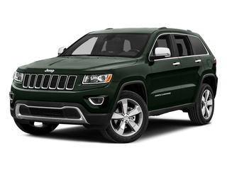 Black Forest Green Pearlcoat 2015 Jeep Grand Cherokee Pictures Grand Cherokee Utility 4D Laredo 2WD photos front view