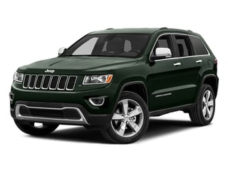 Black Forest Green Pearlcoat 2015 Jeep Grand Cherokee Pictures Grand Cherokee Utility 4D Limited 2WD photos front view