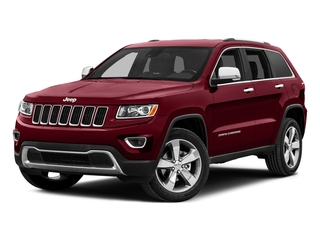 Deep Cherry Red Crystal Pearlcoat 2015 Jeep Grand Cherokee Pictures Grand Cherokee Utility 4D Limited 2WD photos front view