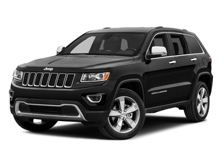 Brilliant Black Crystal Pearlcoat 2015 Jeep Grand Cherokee Pictures Grand Cherokee Utility 4D Laredo 2WD photos front view