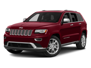 Deep Cherry Red Crystal Pearlcoat 2015 Jeep Grand Cherokee Pictures Grand Cherokee Utility 4D Summit 4WD photos front view