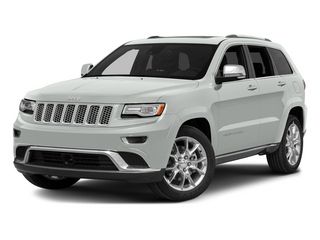 Bright White Clearcoat 2015 Jeep Grand Cherokee Pictures Grand Cherokee Utility 4D Summit 4WD photos front view