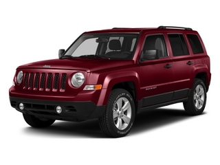 Deep Cherry Red Crystal Pearlcoat 2015 Jeep Patriot Pictures Patriot Utility 4D Sport 2WD photos front view