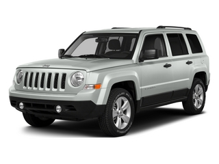 Bright White Clearcoat 2015 Jeep Patriot Pictures Patriot Utility 4D Sport 2WD photos front view