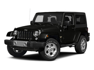 Black Clearcoat 2015 Jeep Wrangler Pictures Wrangler Utility 2D Sahara 4WD V6 photos front view