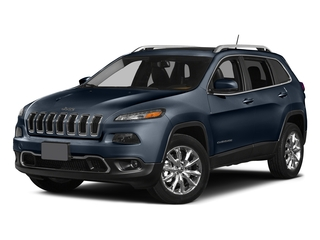 True Blue Pearlcoat 2015 Jeep Cherokee Pictures Cherokee Utility 4D Latitude 4WD photos front view