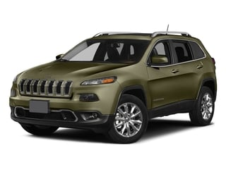 Eco Green Pearlcoat 2015 Jeep Cherokee Pictures Cherokee Utility 4D Latitude 4WD photos front view