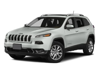 Bright White Clearcoat 2015 Jeep Cherokee Pictures Cherokee Utility 4D Latitude 4WD photos front view