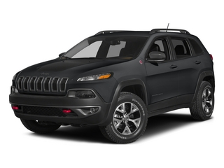 Granite Crystal Metallic Clearcoat 2015 Jeep Cherokee Pictures Cherokee Utility 4D Trailhawk 4WD photos front view