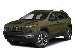 Eco Green Pearlcoat 2015 Jeep Cherokee Pictures Cherokee Utility 4D Trailhawk 4WD photos front view