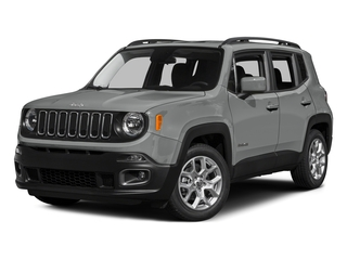 Glacier Metallic 2015 Jeep Renegade Pictures Renegade Utility 4D Limited AWD I4 photos front view