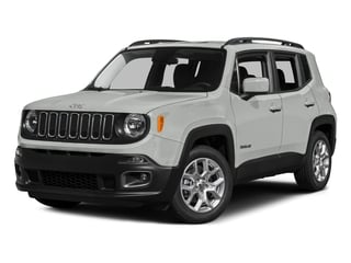 Alpine White 2015 Jeep Renegade Pictures Renegade Utility 4D Limited AWD I4 photos front view