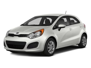 Clear White 2015 Kia Rio Pictures Rio Hatchback 5D LX I4 photos front view