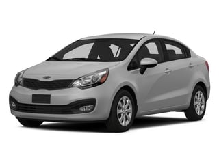 Bright Silver 2015 Kia Rio Pictures Rio Sedan 4D EX I4 photos front view