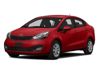 Signal Red 2015 Kia Rio Pictures Rio Sedan 4D EX I4 photos front view