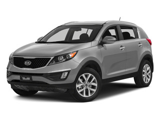 Mineral Silver 2015 Kia Sportage Pictures Sportage Utility 4D LX 2WD I4 photos front view