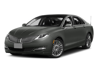 Magnetic Metallic 2015 Lincoln MKZ Pictures MKZ Sedan 4D I4 Hybrid photos front view