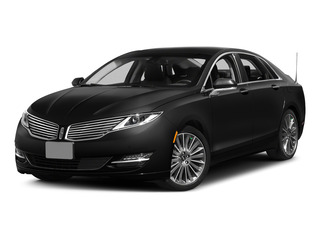 Tuxedo Black Metallic 2015 Lincoln MKZ Pictures MKZ Sedan 4D I4 Hybrid photos front view