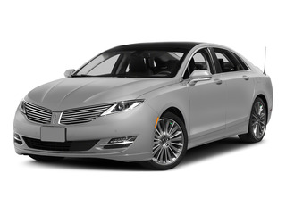 Ingot Silver Metallic 2015 Lincoln MKZ Pictures MKZ Sedan 4D I4 Hybrid photos front view