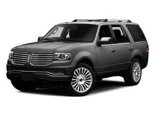 Magnetic Metallic 2015 Lincoln Navigator Pictures Navigator Utility 4D Select 2WD V6 Turbo photos front view
